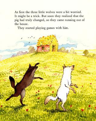 Хелен Охенбуру. Три маленьких волчонка и большой плохой свин 22