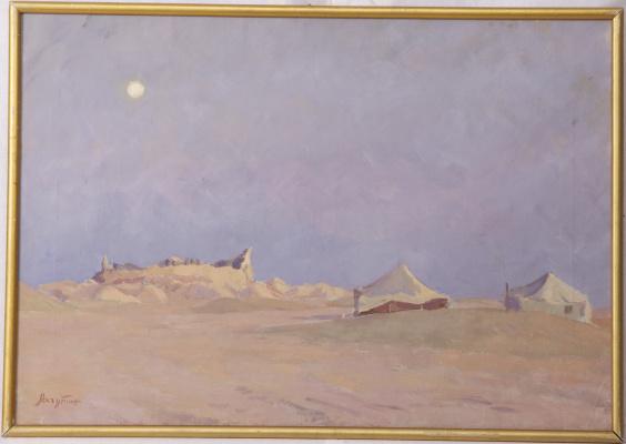 Sergey Yakovlevich Lagutin. Remains of ancient Khorezm