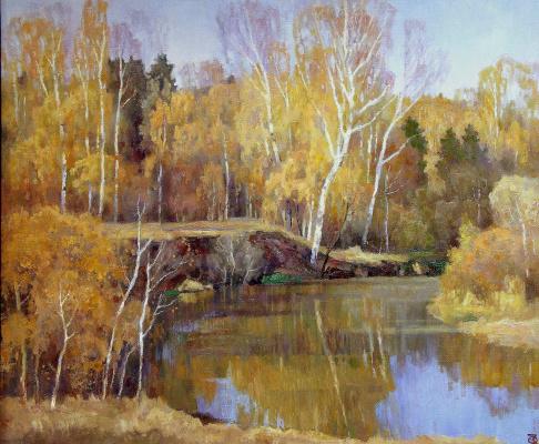 Oleg Borisovich Zakharov. Gold river Vorya.