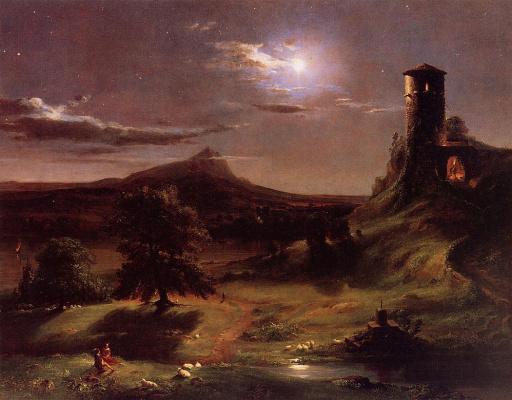 Томас Коул. Лунный свет