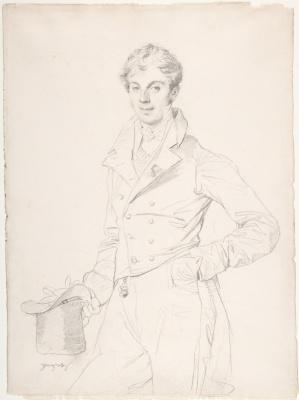 Jean Auguste Dominique Ingres. Lancelot-Theodore Stavrev de criss