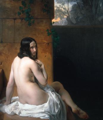 Francesco Ayets. Susanna in the bath