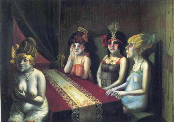 Otto Dix. Salon