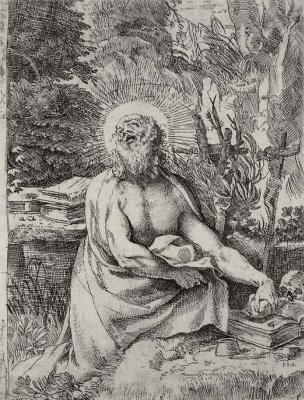 Annibale Carracci. Saint Jerome
