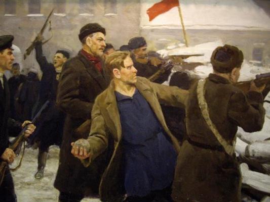 Юрий Петрович Кугач. Баррикады 1905 г