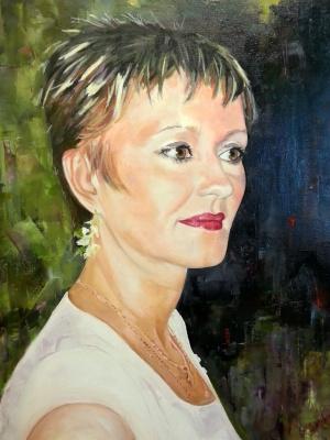 """Alexander Nikolaevich Gorokhov. """"Female portrait"""""""
