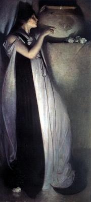 John White Alexander. Woman