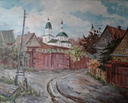Lyudmila Lvovna Khlebnikova. Borovsk. Village Kurochki.