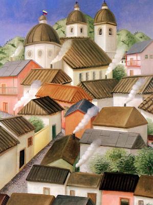 Fernando Botero. City