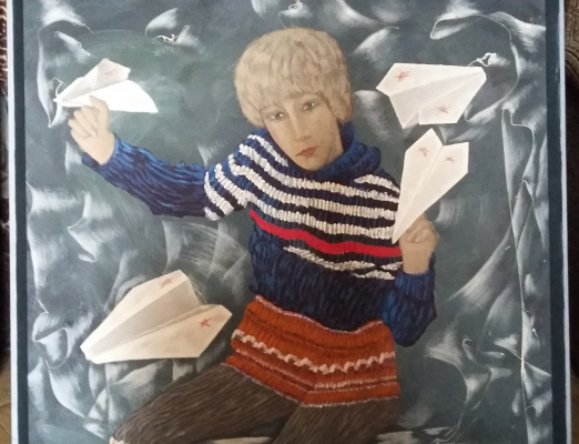 Nikolay Zverev. Ilik with airplanes
