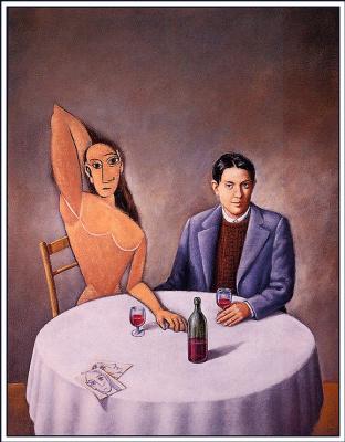 Rafal Olbinski. Picasso