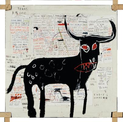 Jean-Michel Basquiat. Beef ribs