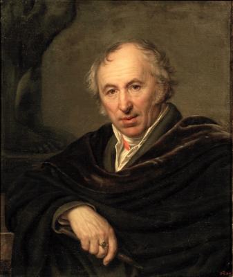 Alexander Grigorievich Varnek. Portrait of sculptor Ivan Petrovich Martos. Research Museum of the Russian Academy of Arts, St. Petersburg
