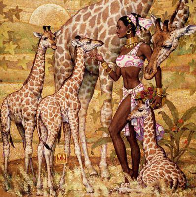 Карл Банг. Жирафы