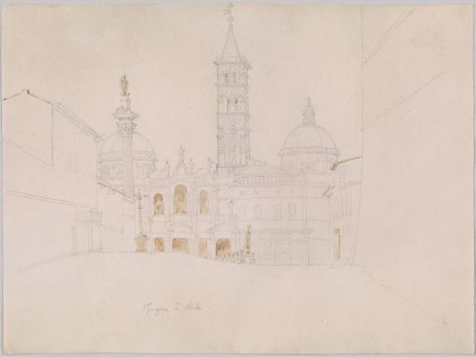 Jean Auguste Dominique Ingres. Basilica Of Santa Maria Maggiore