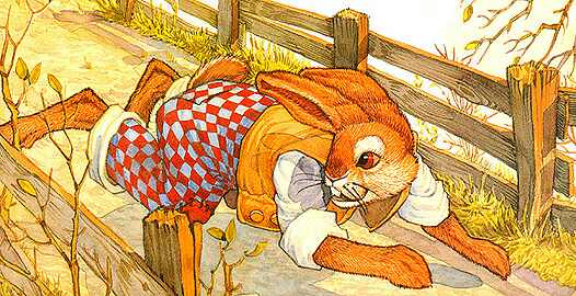 Дон Дэйли. Иллюстрация к сказке Братец Кролик 020