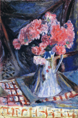 Pierre Bonnard. Pink bouquet