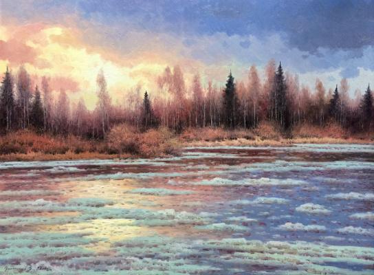 Vasily Ivanovich Gribennikov. Spring Break