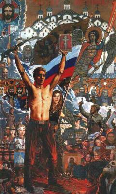 Илья Сергеевич Глазунов. Россия, проснись! 1994
