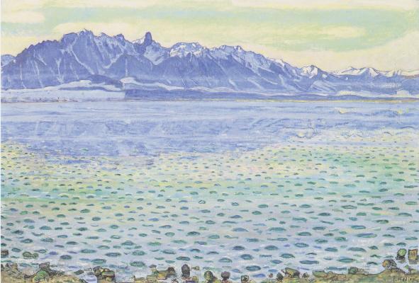Ferdinand Hodler. Lake Thun