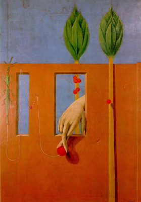 Max Ernst. In the first pure word