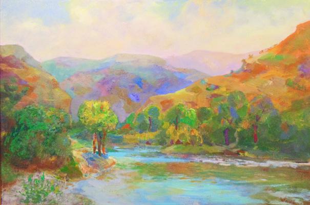 Камиль Нурыевич Велиахмедов. Река Сумбар