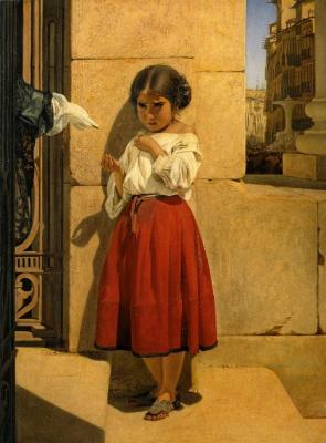 Evgraf Semenovich Sorokin. Poor girl-Spanish