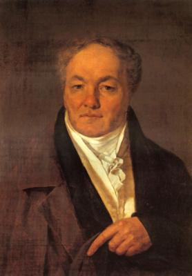 Alexey Gavrilovich Venetsianov. Portrait Of P. I. Milyukov