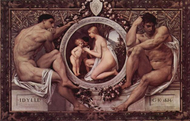 Gustav Klimt. Idyll