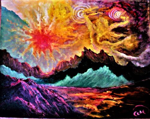 "Olga evgen'evna manchneva. Cosmic fantasy ""to the roots"""