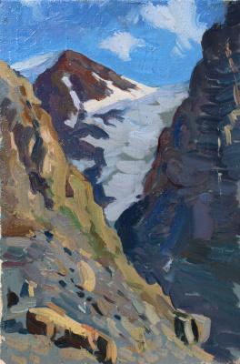 Eugene Butch. Small glacier.Aktru