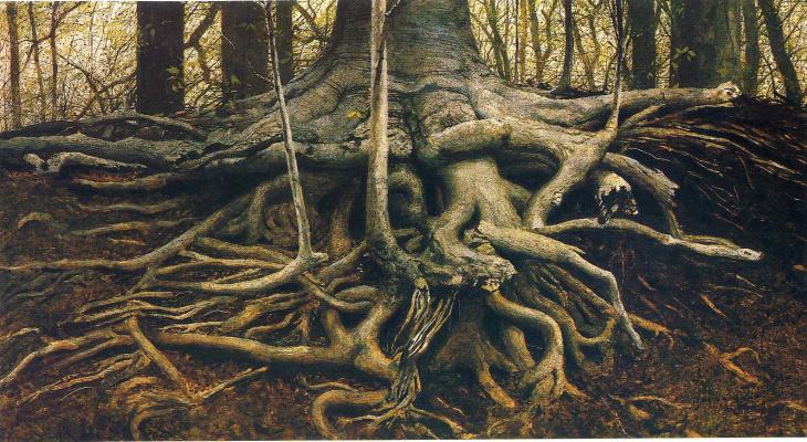 Jamie Wyeth. Roots