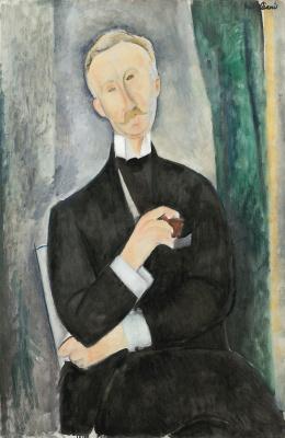 Амедео Модильяни. Портрет Роже Дютийеля