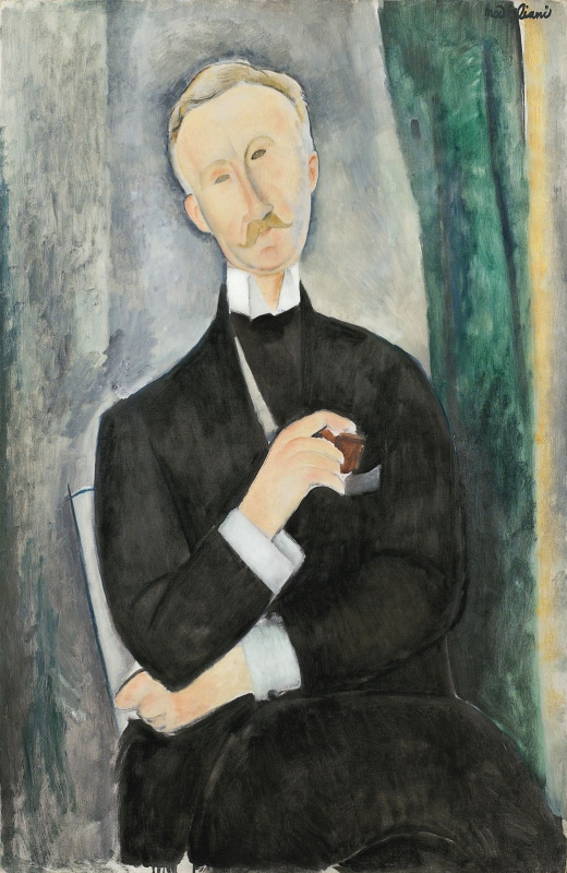 Amedeo Modigliani. Portrait Of Roger Duties
