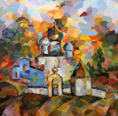 Larisa Georgievna Shubina. Moscow Novospassky Monastery