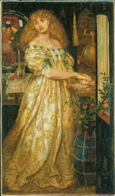 Dante Gabriel Rossetti. Lucrezia Borgia