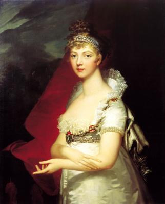 Jean Laurent Mosnier. Portrait of Empress Elizabeth Alexeyevna