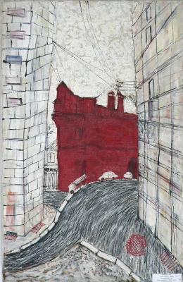 Sergey Viktorovich Solomatin. Red house
