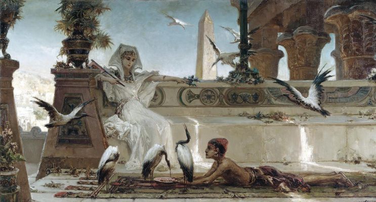 Wilhelm Kotarbinsky. Cleopatra
