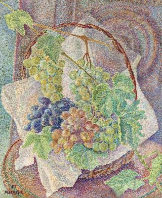 Мария Брониславовна Маревна (Воробьева-Стебельская). Натюрморт с фруктами.1939