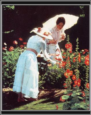 Джуди Йорк. Девушка под белым зонтом