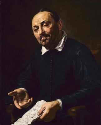 Валантен де Булонь. Портрет Рафаэлло Меникуччи