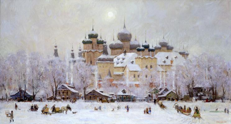 Alexander Evgenievich Kosnichev. Rostov The Great