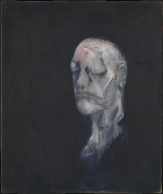 Фрэнсис Бэкон. Эскиз портрета II (после Маски Жизни Уильяма Блейка)
