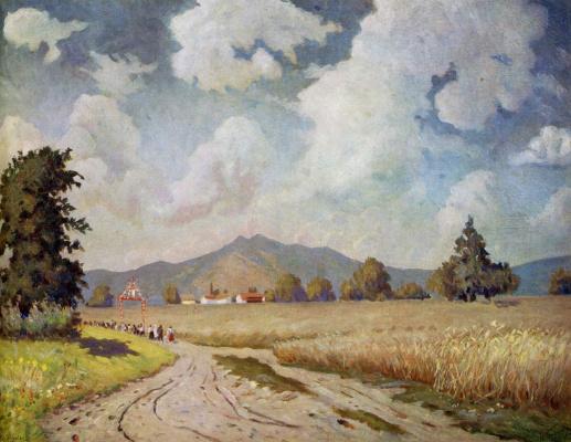 Николай Григорьевич Бурачек. Road to the collective farm