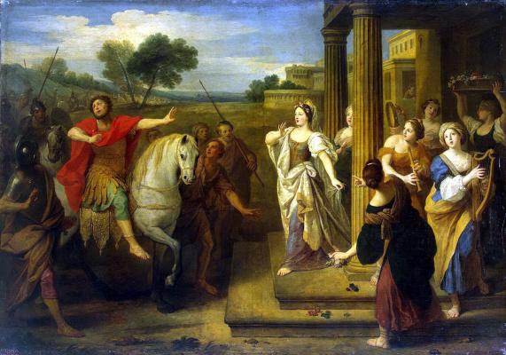 Бон Старший Булонь. Возвращение Иеффая