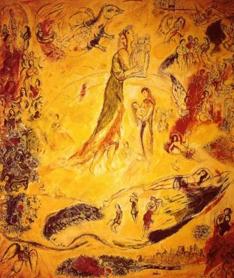 Marc Chagall. The beginning music