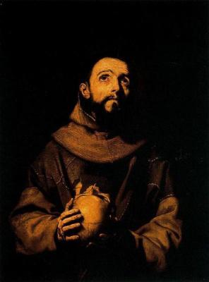 Хосе де Рибера. Св. Франциск Ассизский