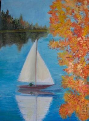 Pavel Markovich Osherov. Sail, autumn