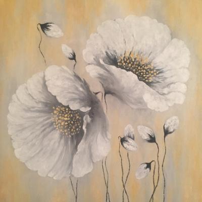 Kateryna. White poppies